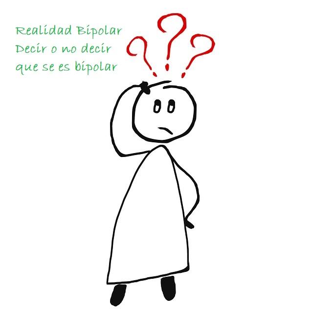 ¿Hay que decir que se es bipolar?